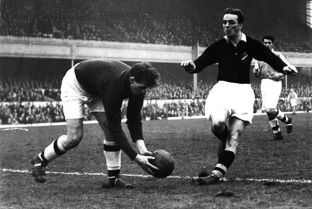 Arsenal-AIK Highbury 1949